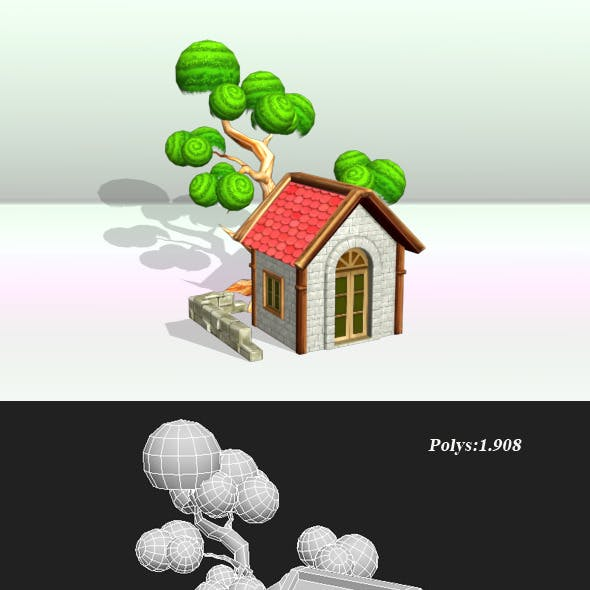 House And Tree Object