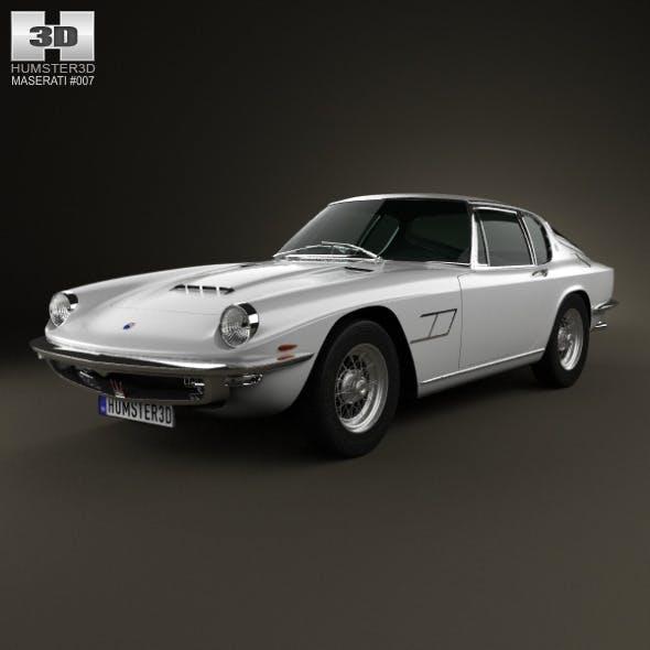 Maserati Mistral 1970 - 3DOcean Item for Sale