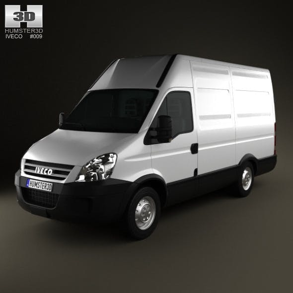 Iveco Daily Panel Van 3300 H2 2008 - 3DOcean Item for Sale