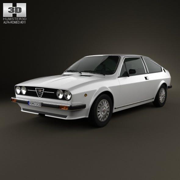 Alfa Romeo Sprint 1976 - 3DOcean Item for Sale
