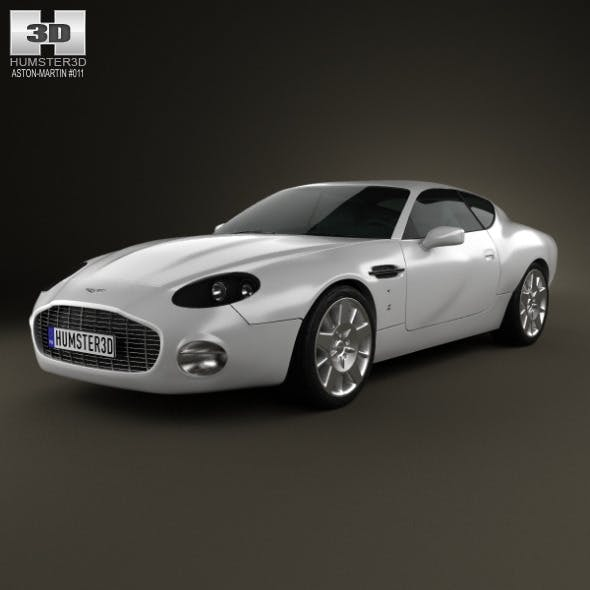 Aston Martin DB7 GT Zagato 2002 - 3DOcean Item for Sale