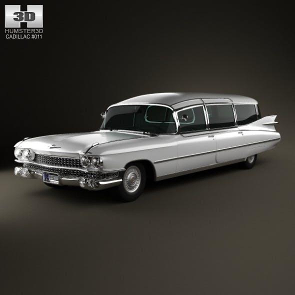 Cadillac Fleetwood 75 Miller-Meteor Hearse 1959