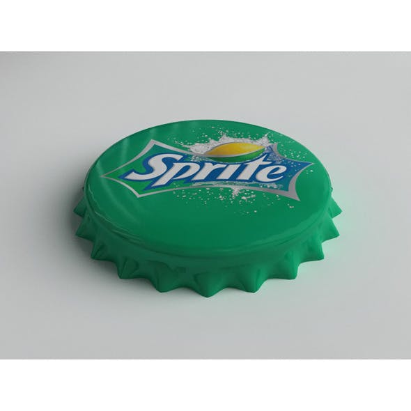 Sprite Bottle Tin Cap