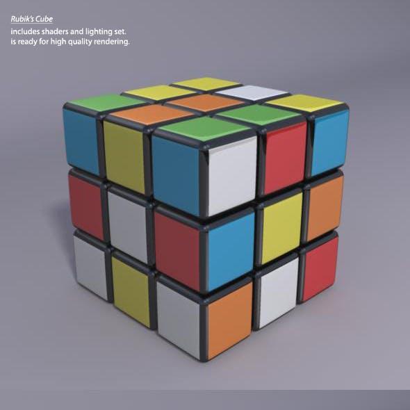 3D High quality Rubik's Cube