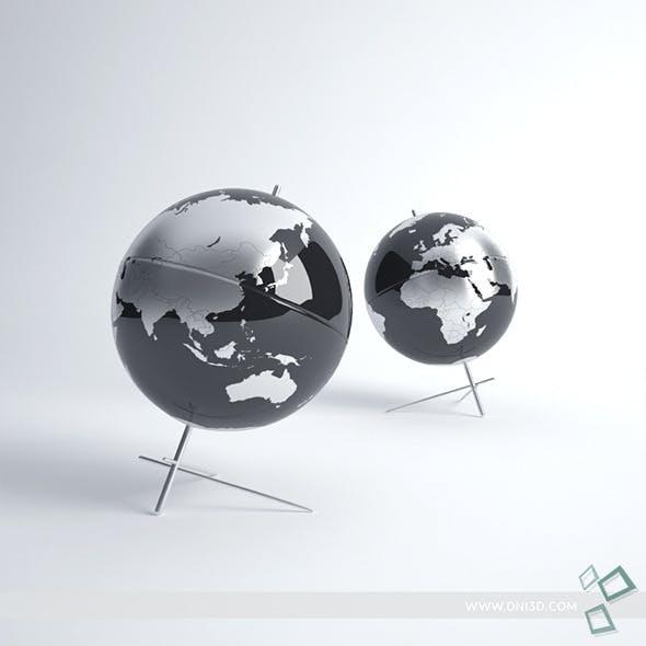 Earth Globe - 3DOcean Item for Sale
