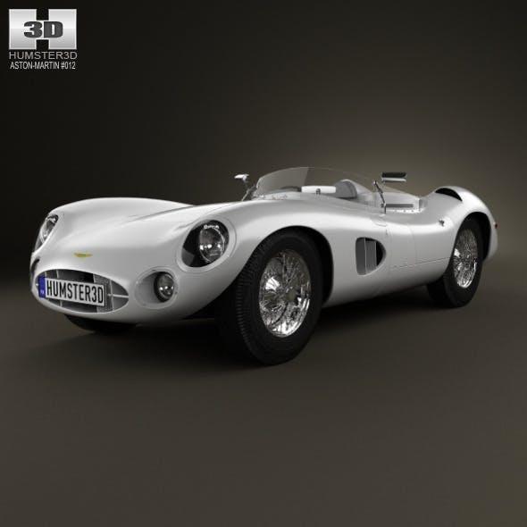 Aston Martin DBR1 1957 - 3DOcean Item for Sale