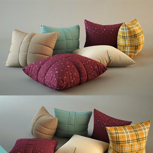 Pillows - realistic