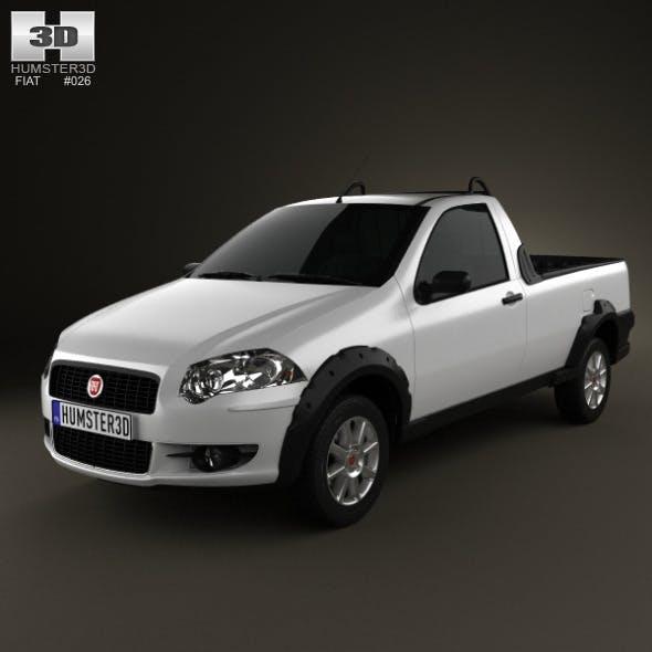 Fiat Strada Short Cab Trekking 2012