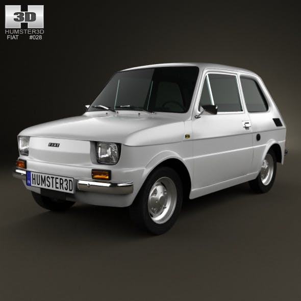 Fiat 126 1976 - 3DOcean Item for Sale