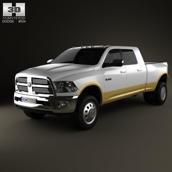 Dodge Ram 3500 Mega Cab Dually Laramie 6-foot 4-in - 3DOcean Item for Sale