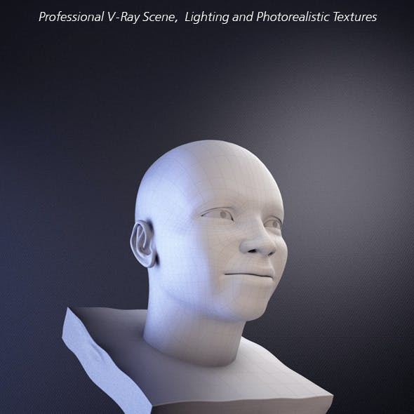Professional V-Ray Scene, Lighting and Textures