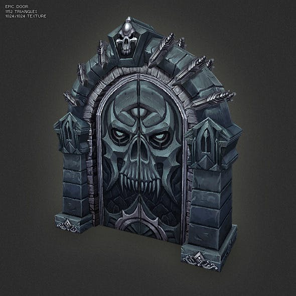 Low Poly Epic Door