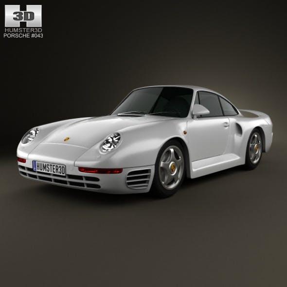 Porsche 959 1986 - 3DOcean Item for Sale