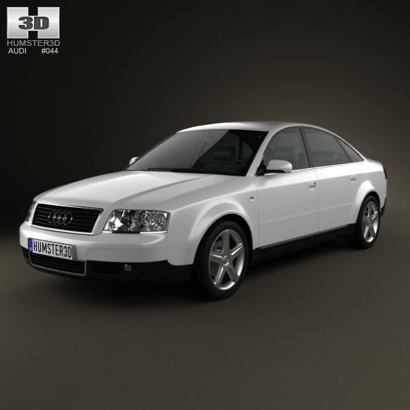 Audi A6 saloon (C5) 2001 - 3DOcean Item for Sale
