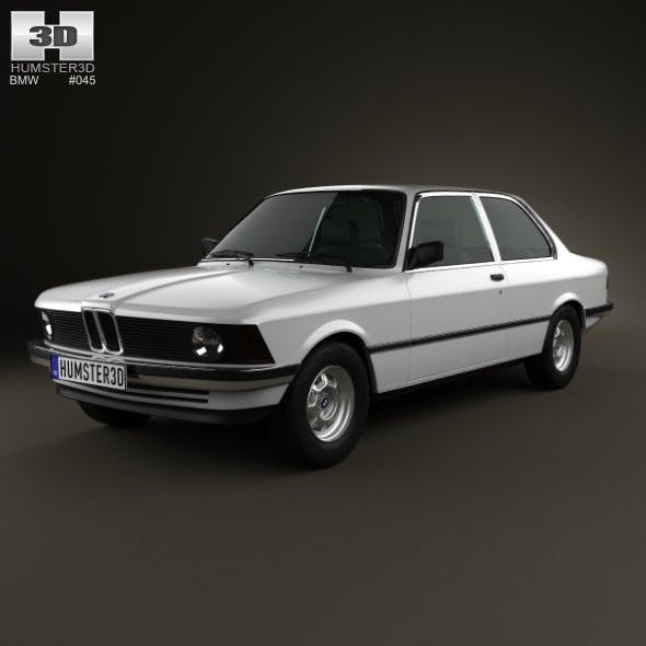 BMW 3 Series coupe (E21) 1975 - 3DOcean Item for Sale