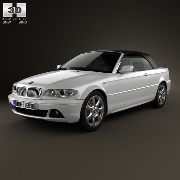 BMW 3 Series convertible (E46) 2004 - 3DOcean Item for Sale