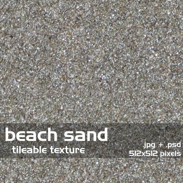 Beach Sand Tileable Texture