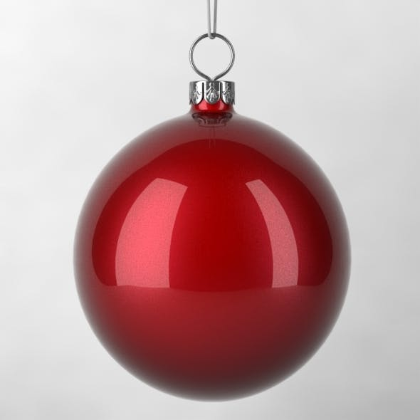 Christmas Decoration - Ball - 3DOcean Item for Sale