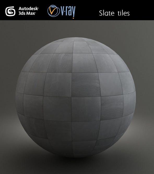 Slate Tiles - 3DOcean Item for Sale