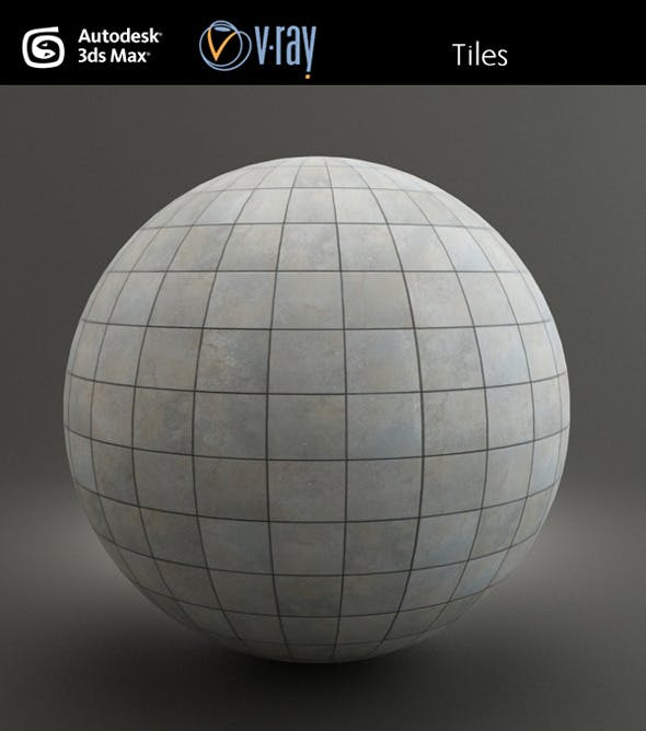 Exterior Tiles - 3DOcean Item for Sale