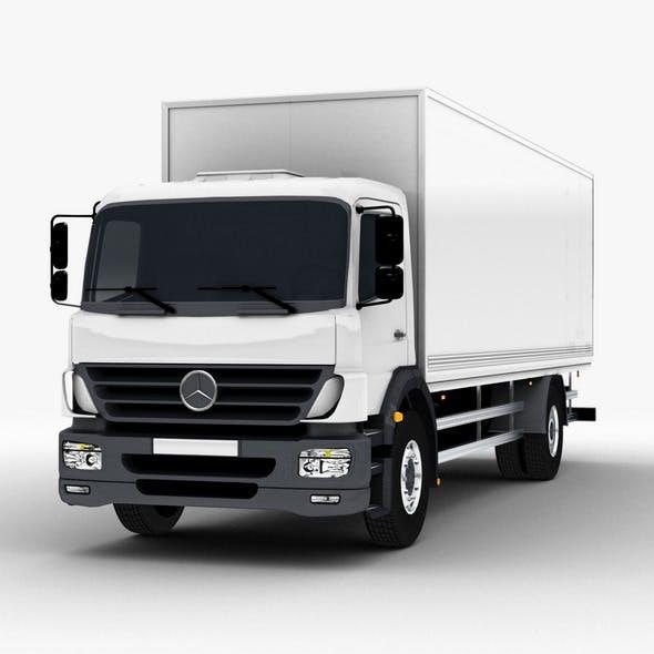 Commercial Truck Mercedes - 3DOcean Item for Sale