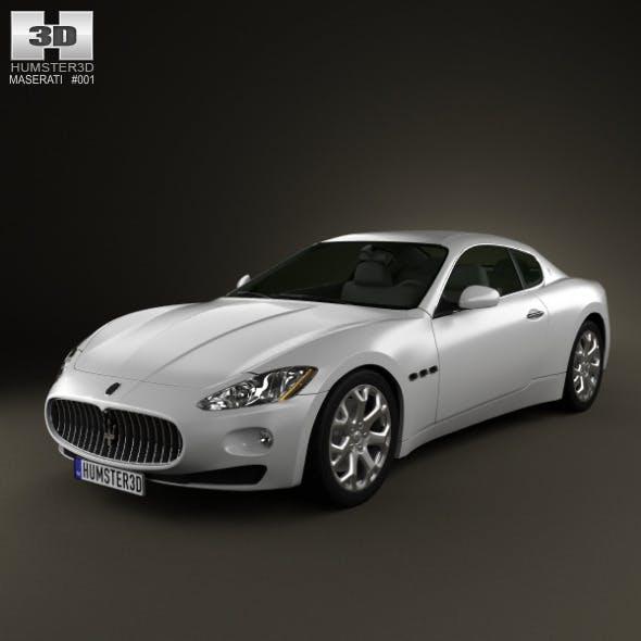 Maserati GranTurismo 2011 - 3DOcean Item for Sale