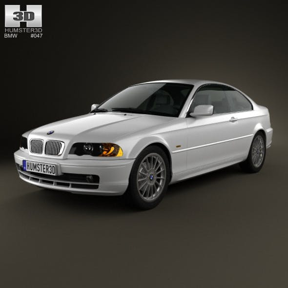 BMW 3 Series coupe (E46) 2004 - 3DOcean Item for Sale