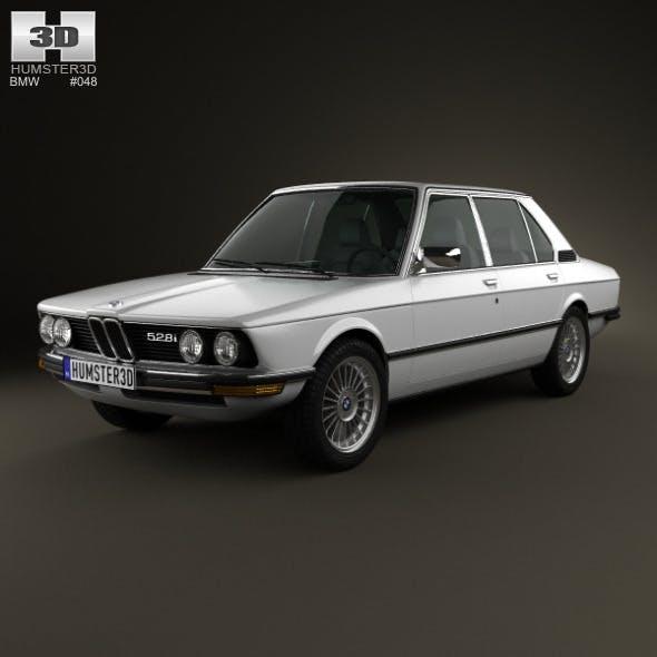 BMW 5 Series sedan (E12) 1978  - 3DOcean Item for Sale