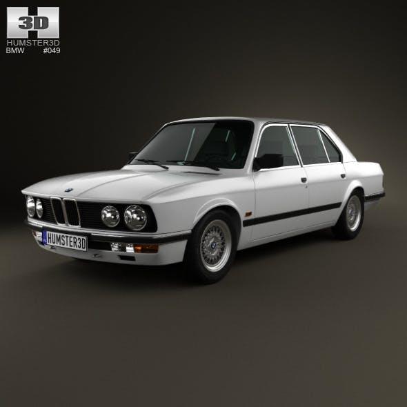 BMW 5 Series sedan (E28) 1987 - 3DOcean Item for Sale