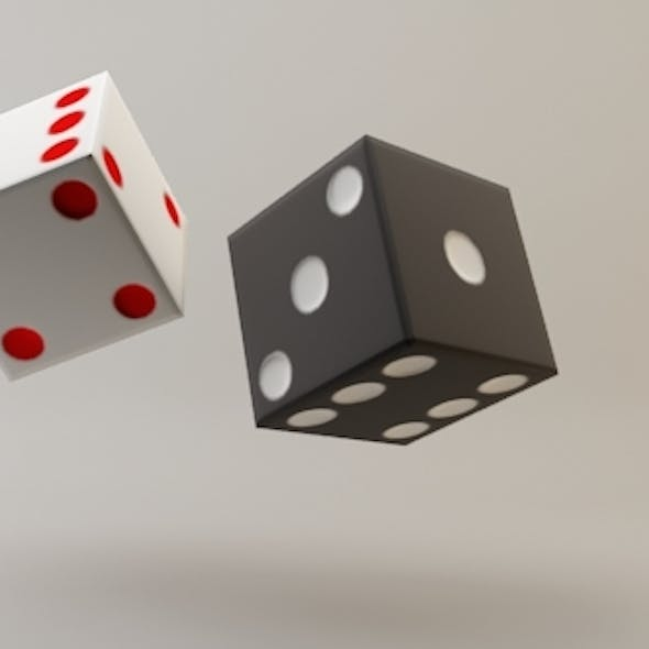 Low Poly Dice