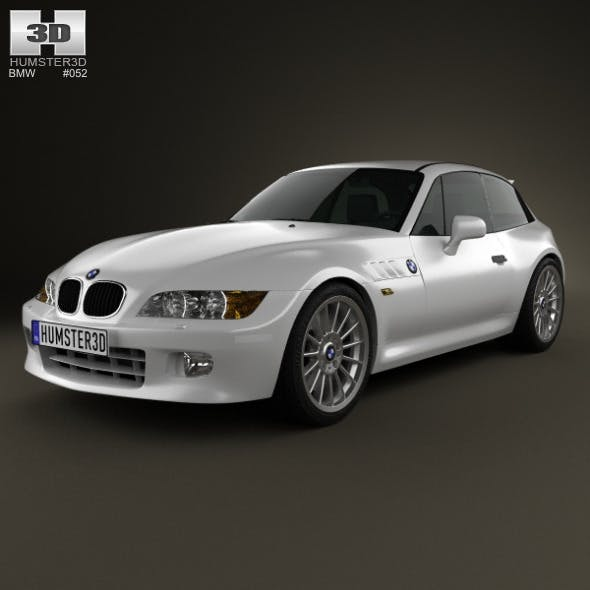 BMW Z3 coupe (E36/8) 1999 - 3DOcean Item for Sale