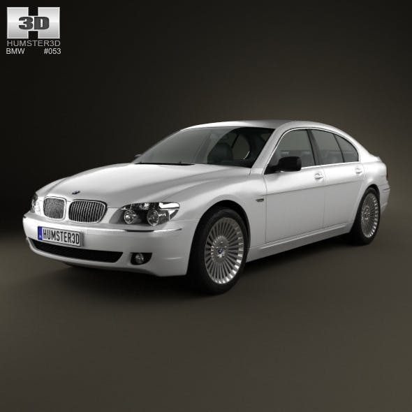 BMW 7 Series (E65) 2008 - 3DOcean Item for Sale
