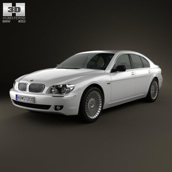 BMW 7 Series (E65) 2008