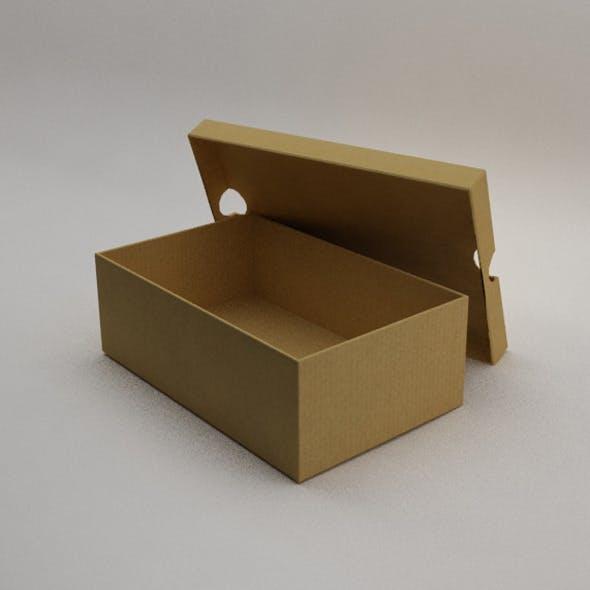 Shoebox - 3DOcean Item for Sale