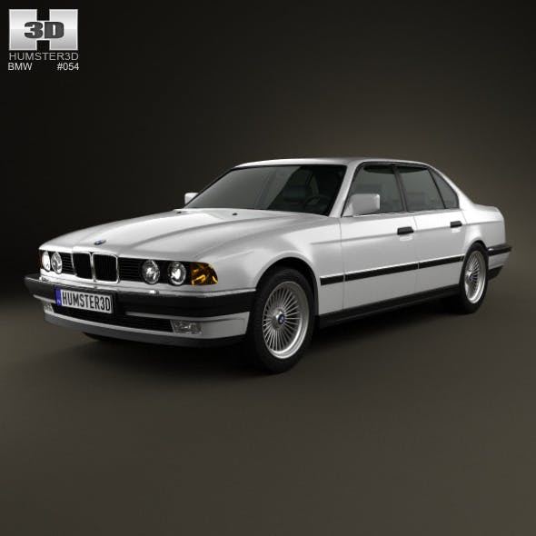 BMW 7 Series (E32) 1992 - 3DOcean Item for Sale