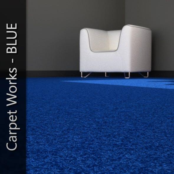 AJD Carpet Works - BLUE