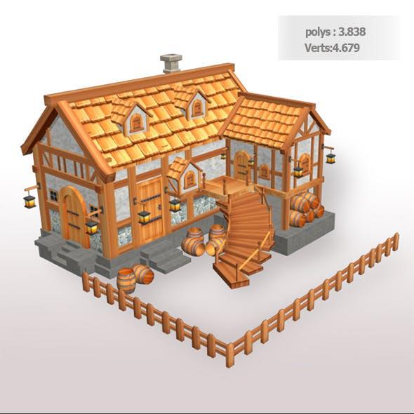 Tavern Low Poly