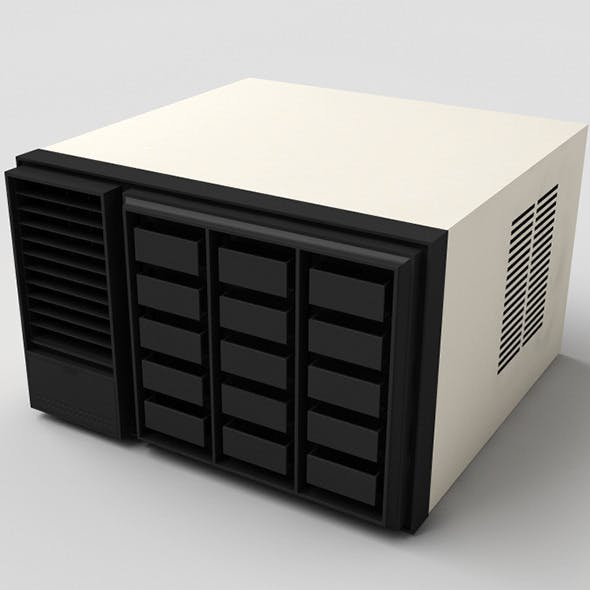Window Air Conditioner - 3DOcean Item for Sale