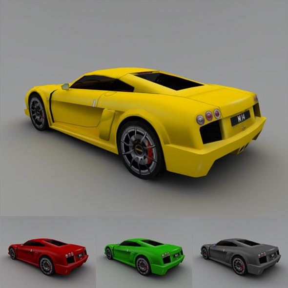 2005 Noble M14 (Low-Poly)