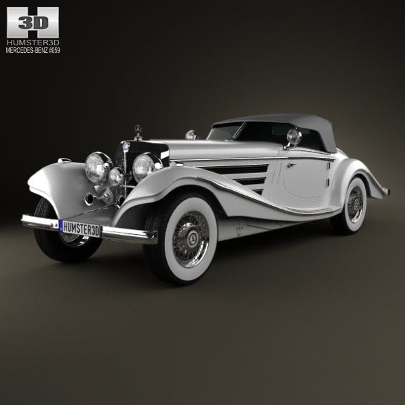 Mercedes-Benz 500K Special Roadster 1936