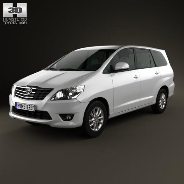 Toyota Innova 2011 - 3DOcean Item for Sale