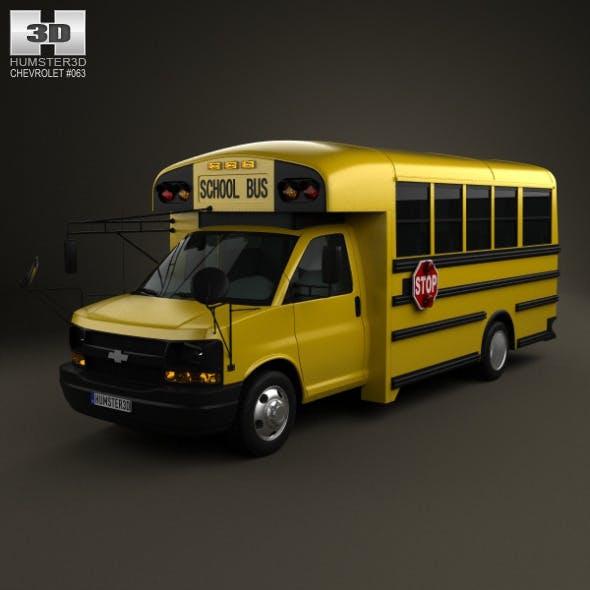 Thomas Minotour School Bus 2012