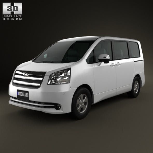 Toyota Noah (Voxy) 2010 - 3DOcean Item for Sale