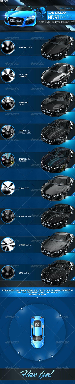 Car Studio HDRI  - 3DOcean Item for Sale
