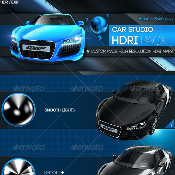 Car Studio HDRI