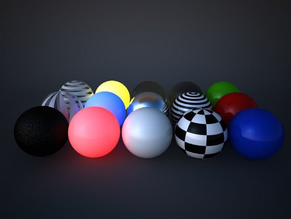 Vray Artistic Materials Pack - 3DOcean Item for Sale