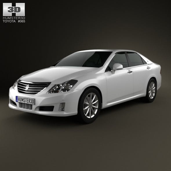 Toyota Crown Royal Saloon (S200) 2010 - 3DOcean Item for Sale