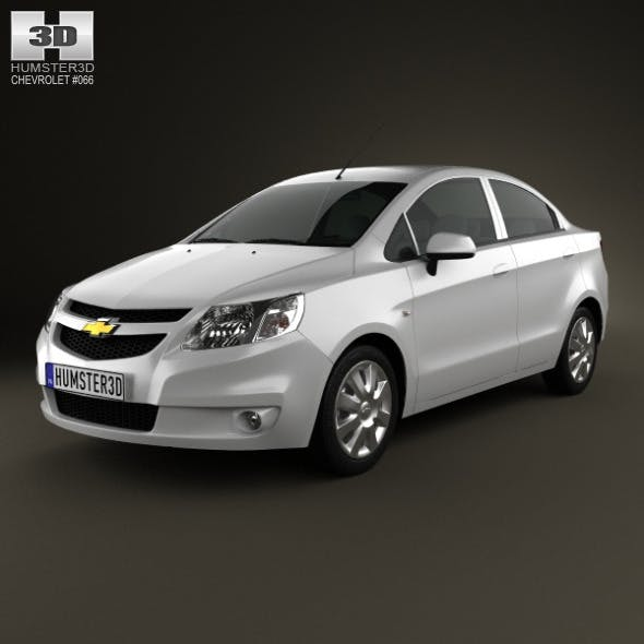 Chevrolet Sail sedan 2011 - 3DOcean Item for Sale
