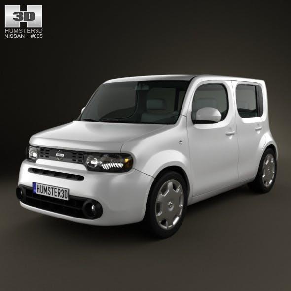 Nissan Cube 2010 - 3DOcean Item for Sale