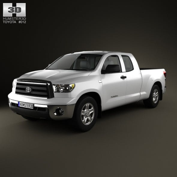 Toyota Tundra DoubleCab 2011 - 3DOcean Item for Sale